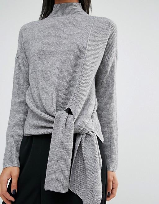 whistles-tie-rib-sweater