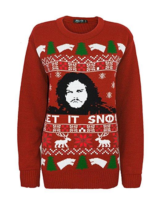 Jonsnowchistmassweater