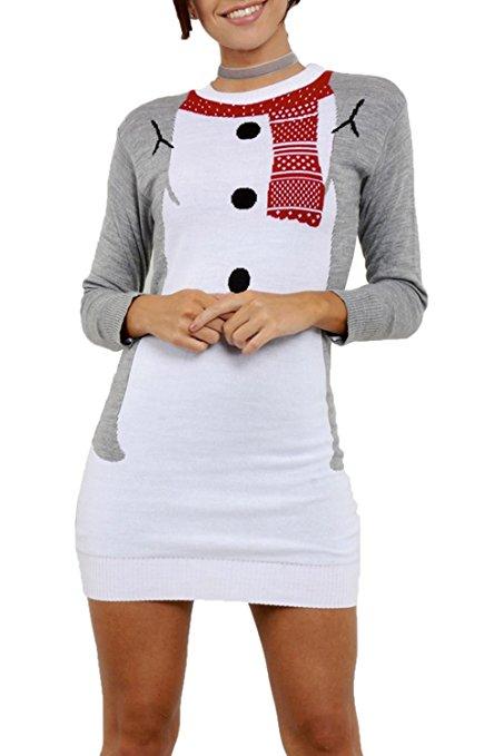 Snowmansweaterdress
